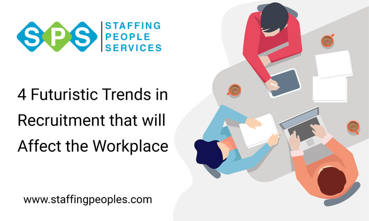 4 Futuristic Trends in Recruitment that will Affect the Workplace