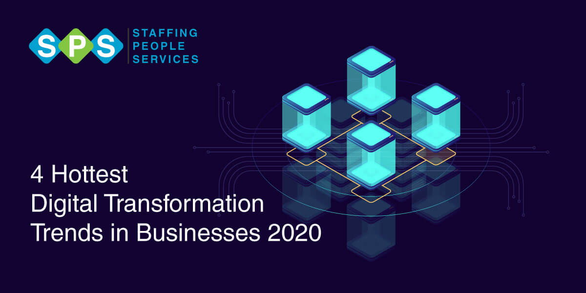 4 Hottest Digital Transformation Trends in Businesses 2020